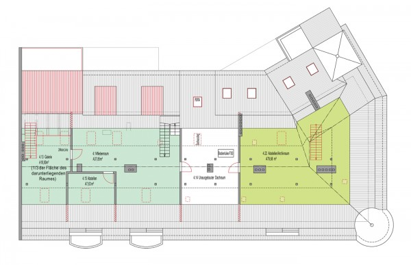 2. Dachgeschoss - Goethestr. 39