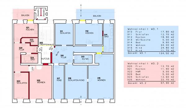 Obergeschoss - Demianiplaz 26