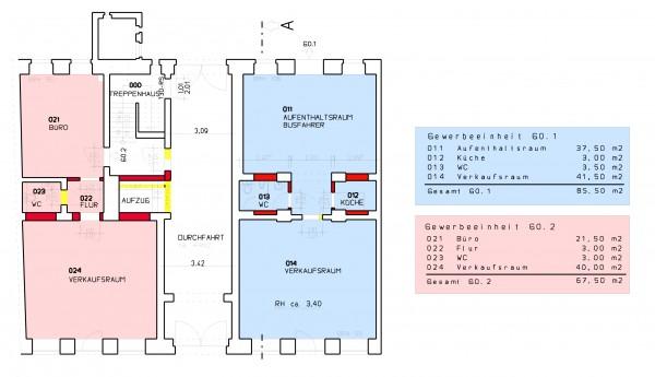 Erdgeschoss - Demianiplatz 26