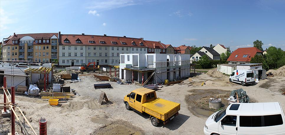 Bauvorgang